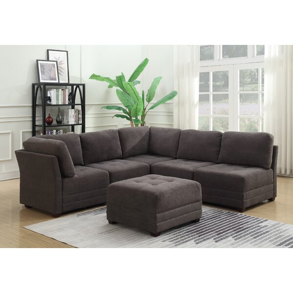 Frampton Reversible Modular Sectional with Ottoman by Latitude Run