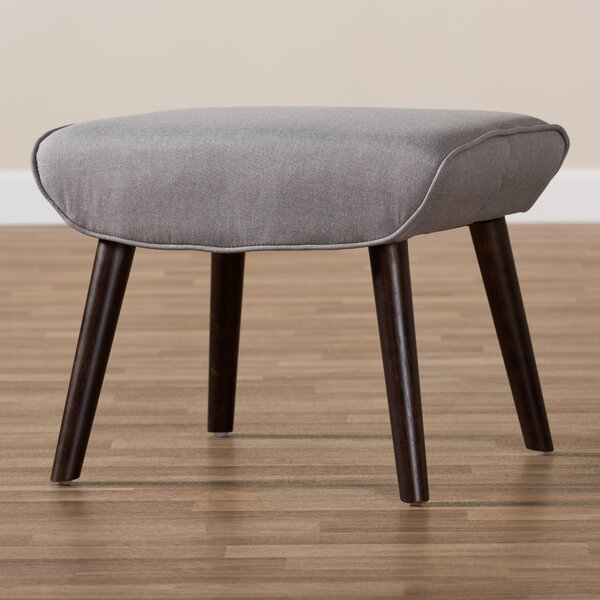 Coughlin Mid-Century Ottoman by George Oliver
