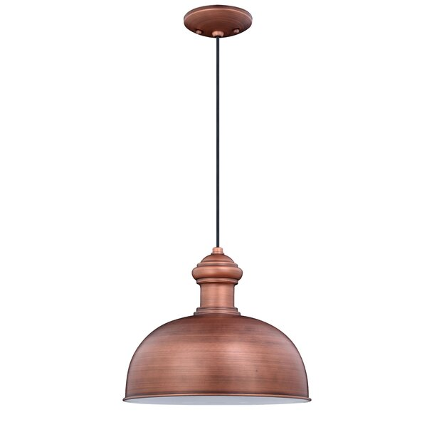 Carys 1-Light Outdoor Pendant by Andover Mills