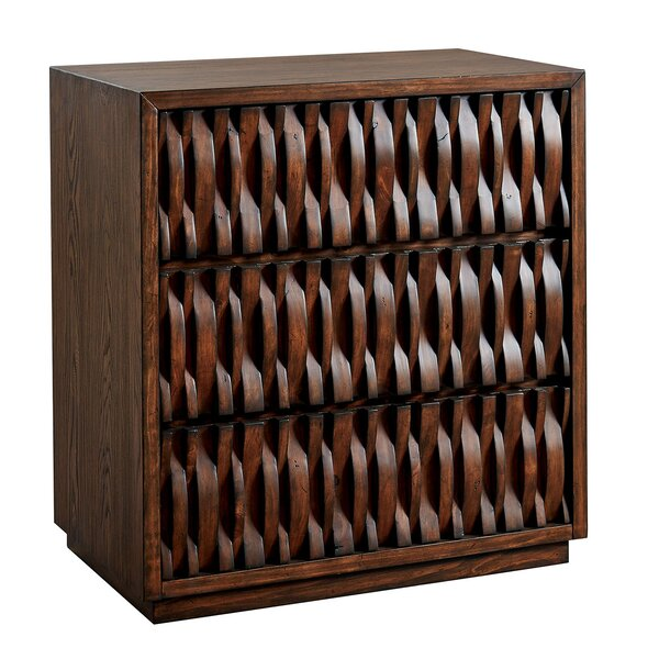 Elysant Hall Way 3 Drawer Accent Chest by World Menagerie