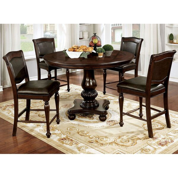 Montcalm Solid Wood Dining Table by Alcott Hill Alcott Hill