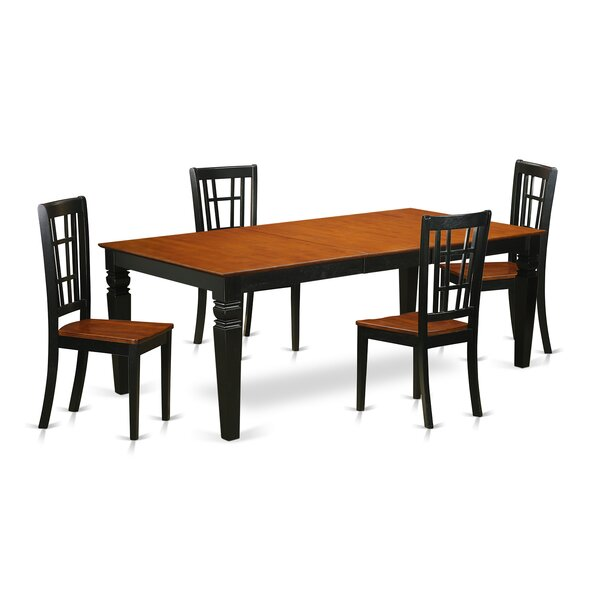 New Design Beesley 5 Piece Solid Wood Dining Set By Darby Home Co Today Sale Only