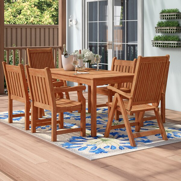 Sherita 7 Piece Dining Set by Sol 72 Outdoor