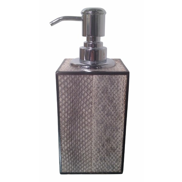 Snakeskin Soap & Lotion Dispenser by Oggetti