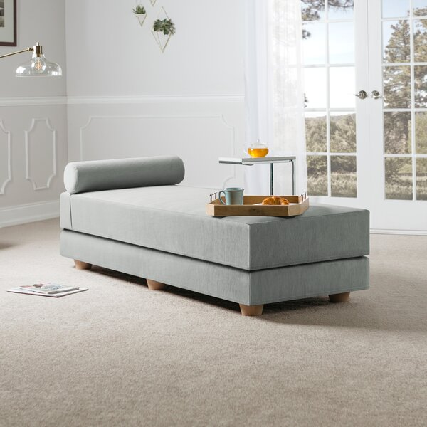 Lolotoe Convertible Queen Daybed with Mattress by Mercury Row