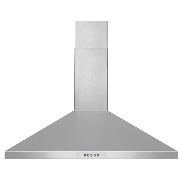 36 400 CFM Convertible Wall Mount Range Hood by AKDY