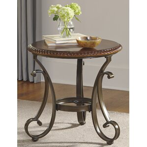 Bovey End Table by Astoria Grand