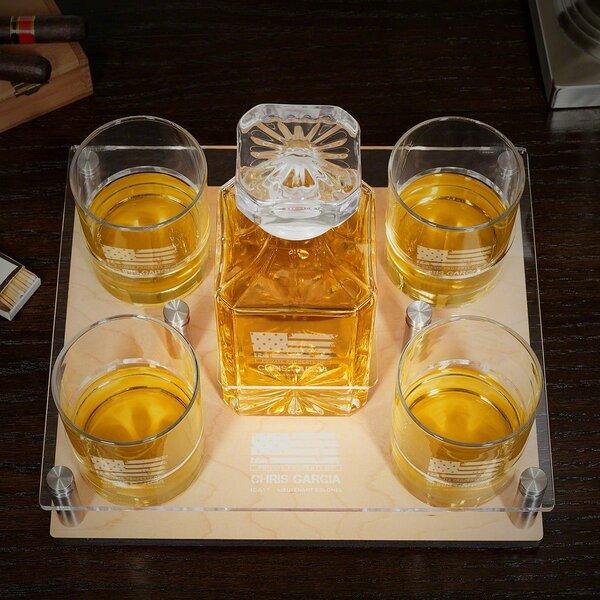 Bayne American Heroes 6 Piece Beverage Serving Sets by Canora Grey