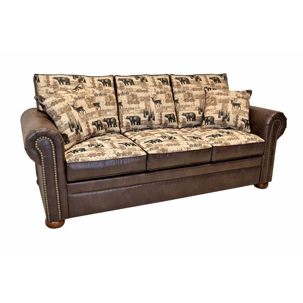 Spoffo Lodge Sofa Bed by Loon Peak