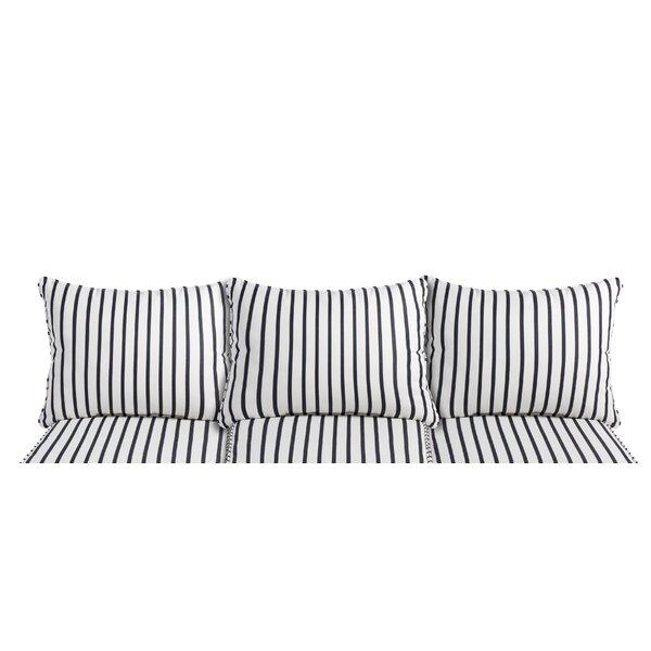 Indoor/Outdoor Sunbrella Sofa Cushion (Set of 6) by Mercury Row