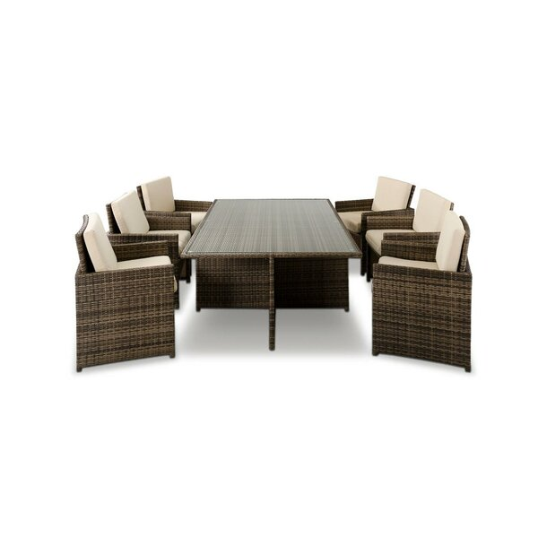 Greenburgh 13 Piece Dining Set by Bayou Breeze