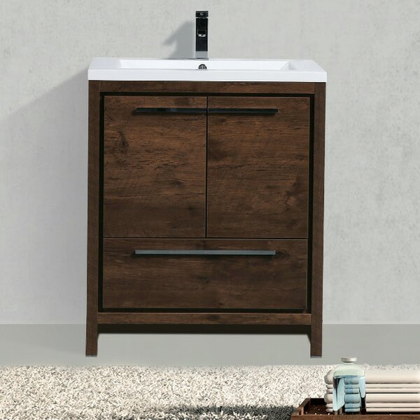 Almendarez Free Standing 30 Single Bathroom Vanity Set by Langley Street