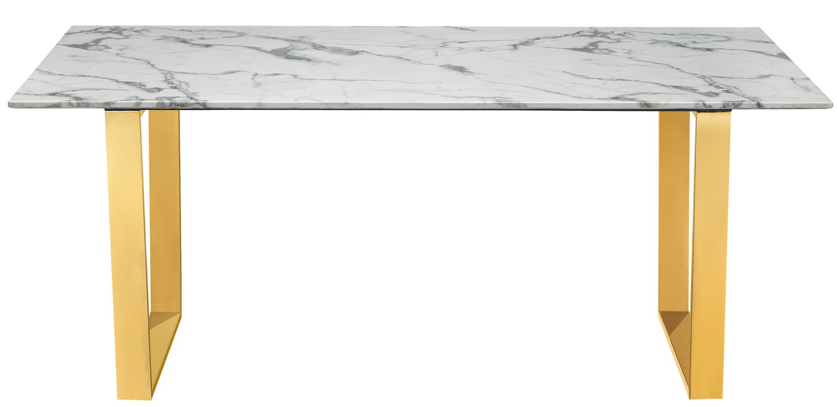 Beau Vonnie Marble Dining Table