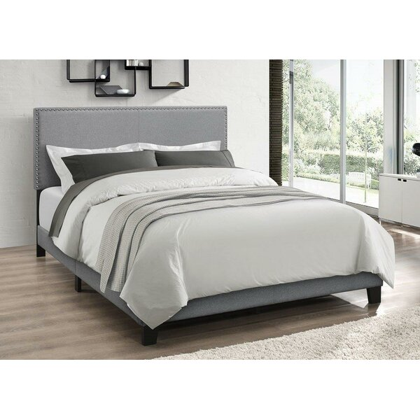 Draven Upholstered Standard Bed Charlton Home HDNN1013