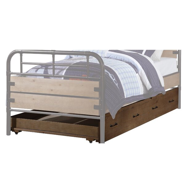 Tereasa Wooden Twin Platform Bed by Williston Forge