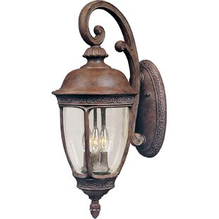 Price comparison Anneliese 3-Light Outdoor Wall Lantern By Darby Home Co