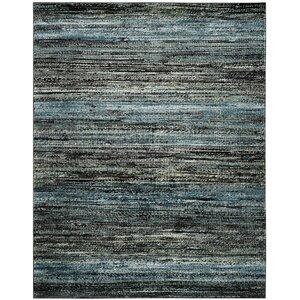 Charis Charcoal/Blue Area Rug