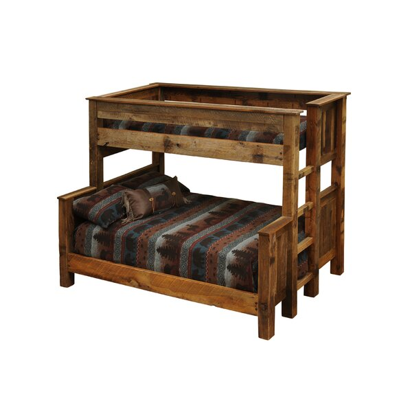 Barnwood Bunk Bed By Fireside Lodge by Fireside Lodge Today Only Sale