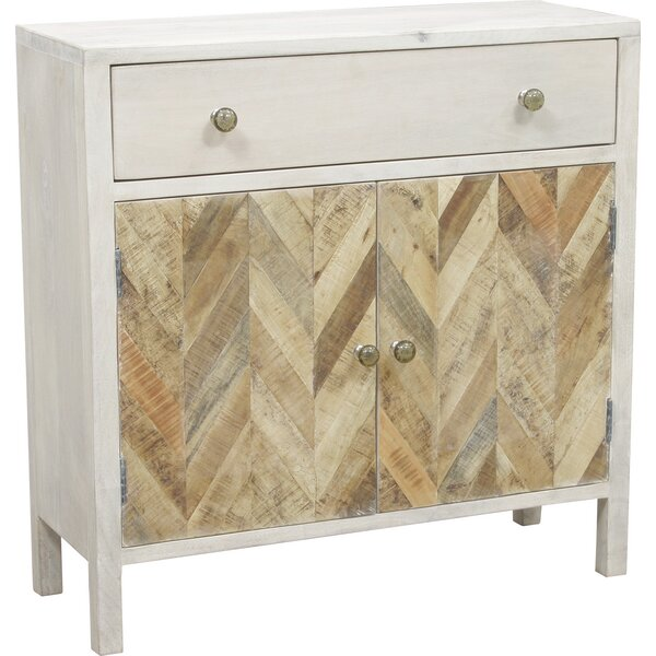 Islemade 1 Drawer 2 Door Accent Cabinet by August Grove August Grove