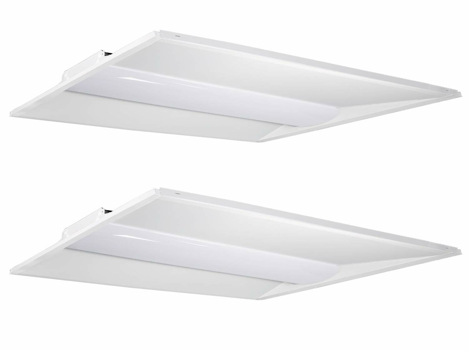 Panel For Drop Ceiling Dimmable 2 Light