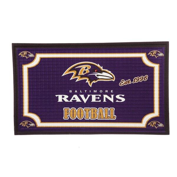 NFL Embossed Doormat by Evergreen Enterprises, Inc