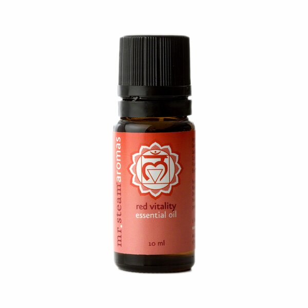 Vitality Chakra 10ml Essential Oil by Mr. Steam