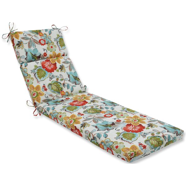 Alatriste Indoor/Outdoor Chaise Lounge Cushion by Pillow Perfect
