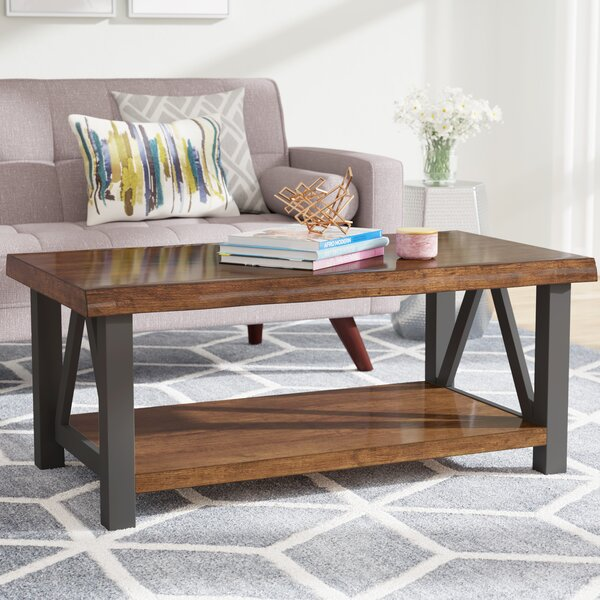 Garr Coffee Table by Mercury Row