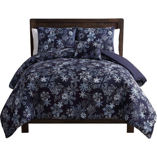 Scroll Snowflake Comforter Set by The Holiday Aisl