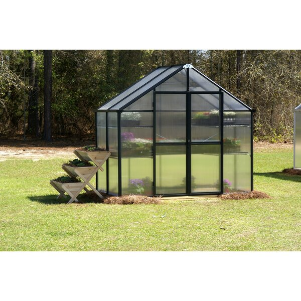 Monticello 8 Ft. W x 4 Ft. D Commercial Greenhouse by Riverstone Industries