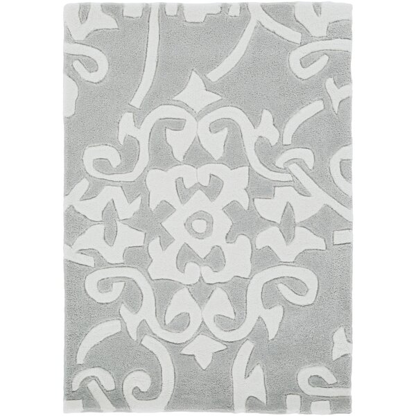 Shauna Hand-Tufted Gray Area Rug by Birch Lane™