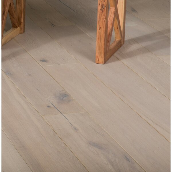 Royal Sovereign 7-1/2 Engineered Oak Hardwood Flooring in Rustic Whitewash by GoHaus