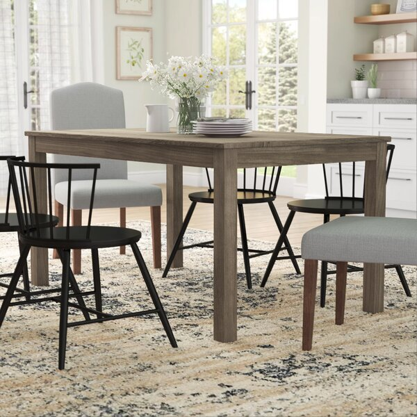 Selina Wood Dining Table by Gracie Oaks