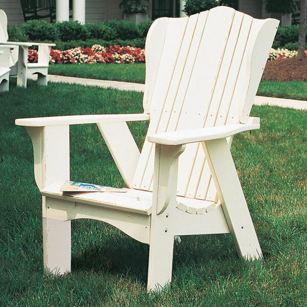 Plantation Wood Adirondack Chair by Uwharrie Chair