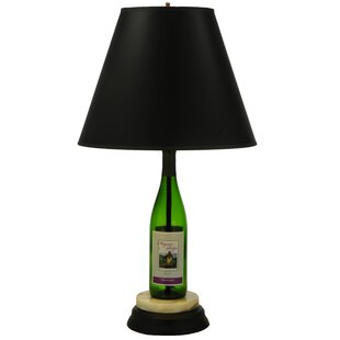 Wine bottle lamps wayfair personalized wine bottle 255 table lamp mozeypictures Gallery