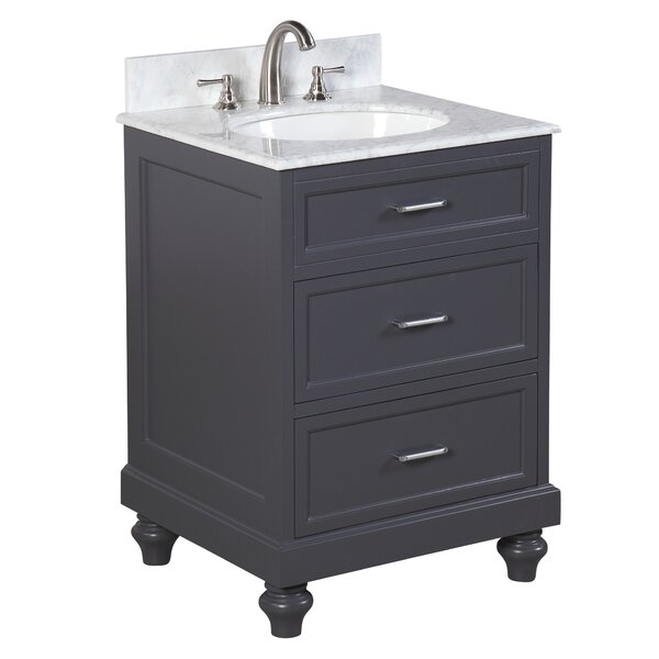 Amelia 24 Single Bathroom Vanity Set by Kitchen Bath Collection