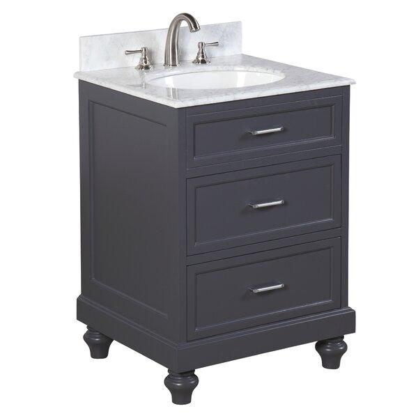 Amelia 24 Single Bathroom Vanity Set by Kitchen Bath Collection