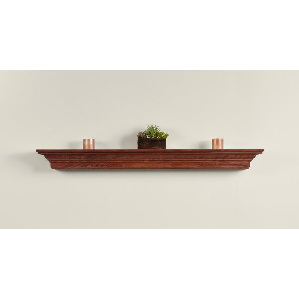 Stenson Crown Fireplace Mantel Shelf by Charlton Home