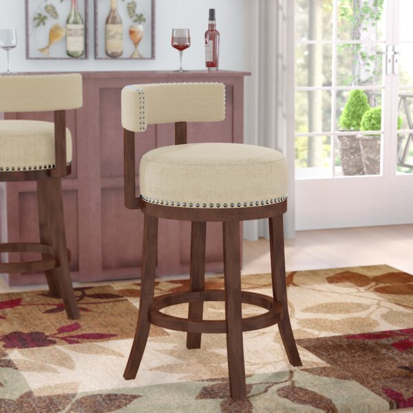 Norden Contemporary 30 Swivel Bar Stool (Set of 2) by Andover Mills