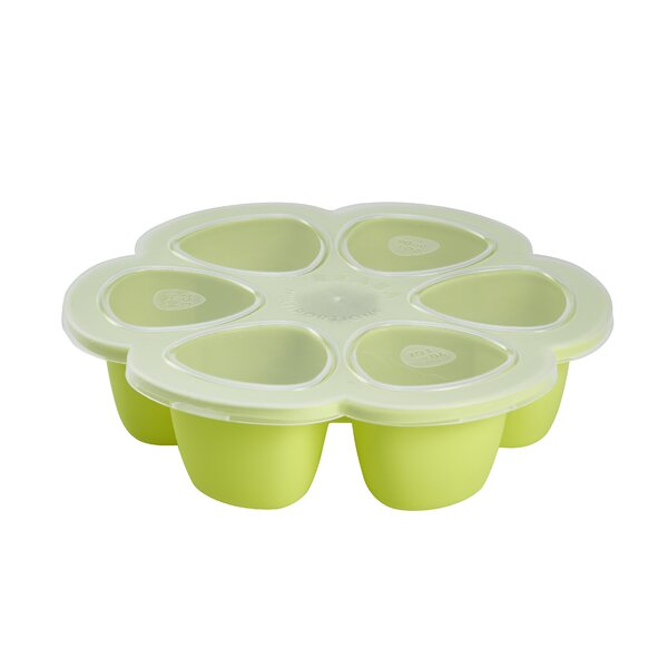 Round Silicone Multi-Portions 3 Oz. Food Storage Container by Beaba