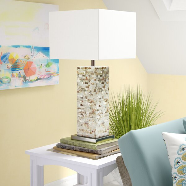 Loralee Pearl 29.5 Table Lamp by Beachcrest Home