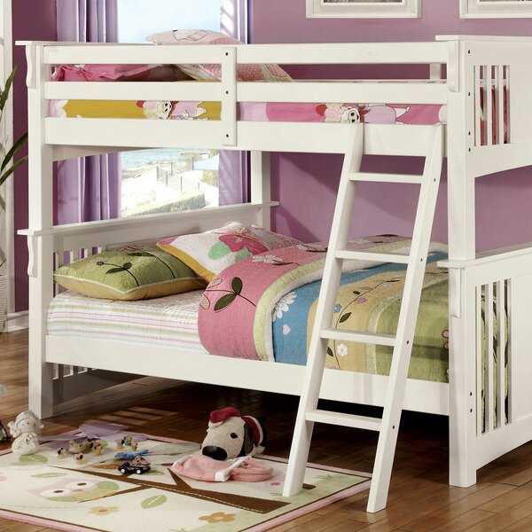 Genebern Full over Full Bunk Bed by Harriet Bee