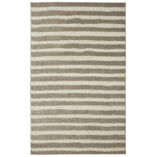 Mohawk Loft Bergen Gray/Beige Area Rug by Under the Canopy