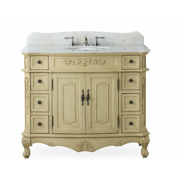 Canby 42 Single Bathroom Vanity Set