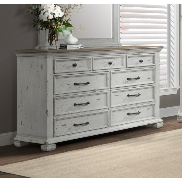 Schutz 7 Drawer Double Dresser by Gracie Oaks