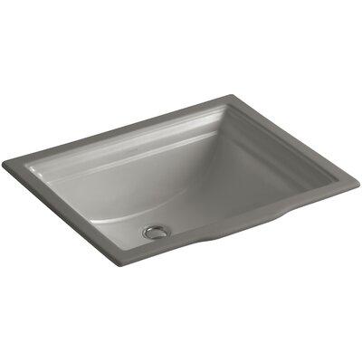 Undermount Sink Overflow Sink Cashmere