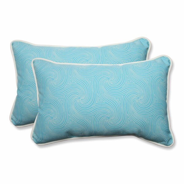 Vanderford Outdoor Lumbar Pillow (Set of 2) by George Oliver