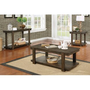 Best Price Stackhouse 3 Piece Coffee Table Set by Millwood Pines