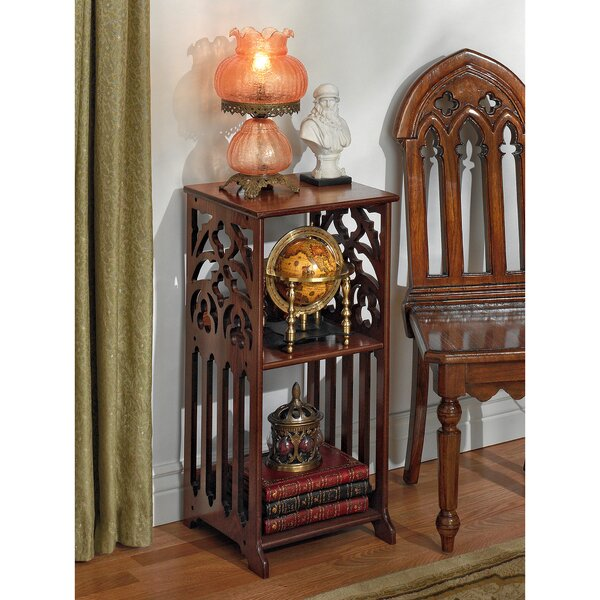 St. Thomas Aquinas Gothic End Table By Design Toscano
