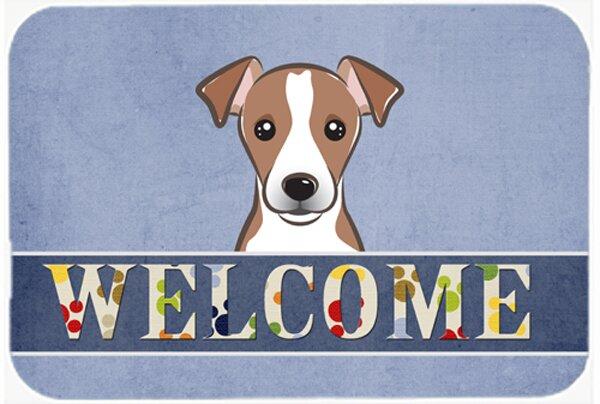 Jack Russell Terrier Welcome Kitchen/Bath Mat